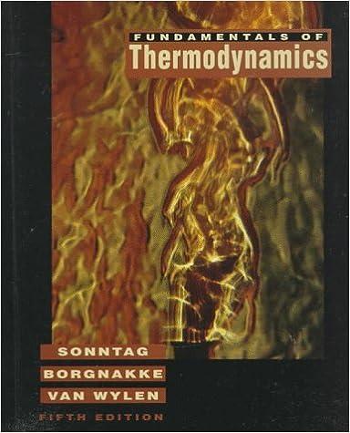 Fundamentals of Thermodynamics: 5th (Fifth) Edition