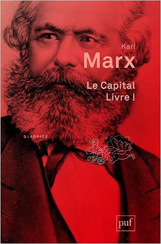 Livres Le capital livre I pdf, epub