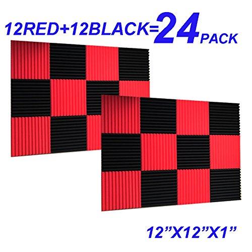 24 Pack Black red 1