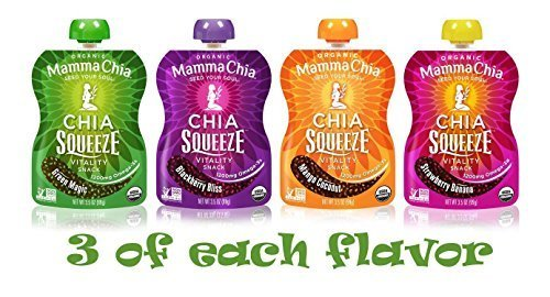 Mamma Chia Squeeze (4 variety pack of 12)