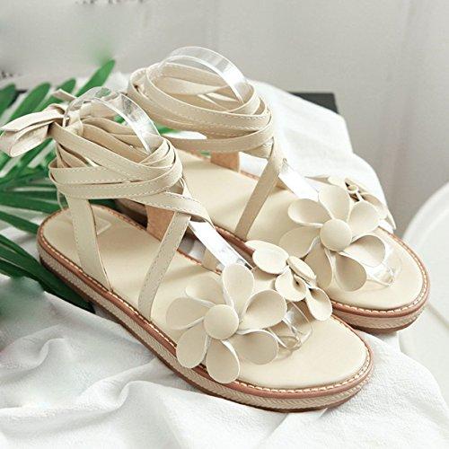 JYshoes Cheville Bride Bride JYshoes Femme Beige Beige JYshoes Bride Femme Cheville Cheville qxtXCpA