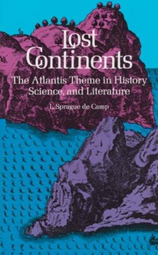 book cover of Lost Continents