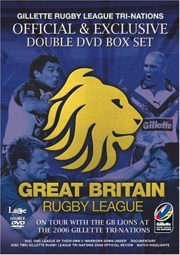 Nations Tri Rugby - Gillette Rugby League Tri-Nations - Great Britain [Box Set] [Import anglais]
