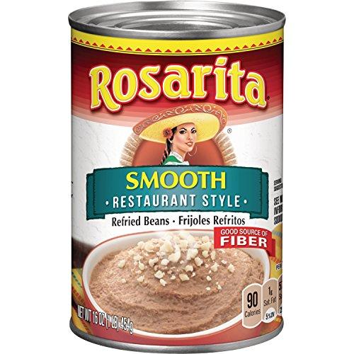 (Rosarita Restaurant Style Refried Beans, 16 oz)