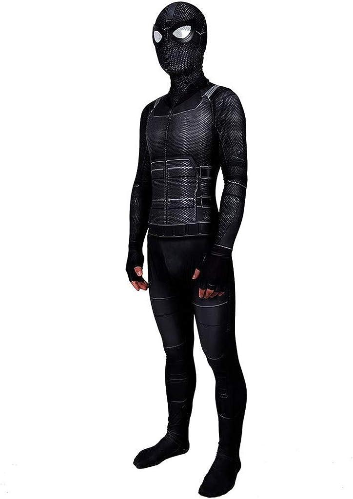 Film Amazing Spiderman Costume Adulto Bambino Cosplay Elastico Collant Nero Body Vestito Partito di Tema di Super Hero