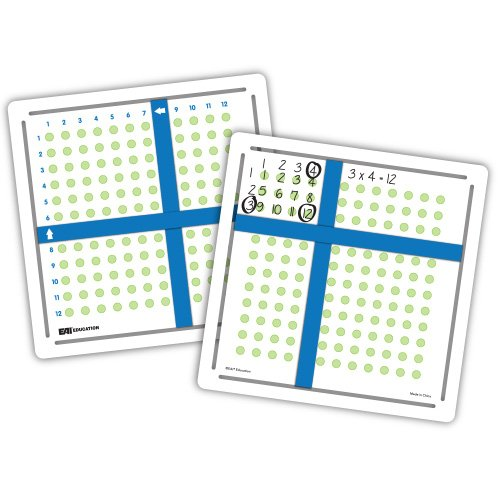 EAI Education Multiplication Array Makers - Set of 5