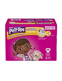 Pull-Ups Learning Designs Training Pants for Girls, 3T-4T, 66 Count (Packaging may vary from image shown) BOBEBE Online Baby Store From New York to Miami and Los Angeles