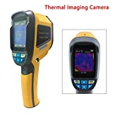 Thermal Imagers,Handheld Portable Infrared IR Digital Thermal Imaging Camera Measurement 60x60 4GB SD Card For Electrical Construction Manufacturing Power Industry