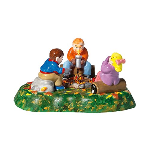 Department 56 Accessories for Villages Halloween Campfire Scary Stories Accessory Figurine