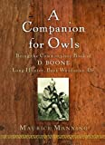 A Companion for Owls, Maurice Manning, 0151010498