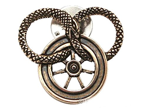 Badali Jewelry Officially Licensed Wheel of Time Pin