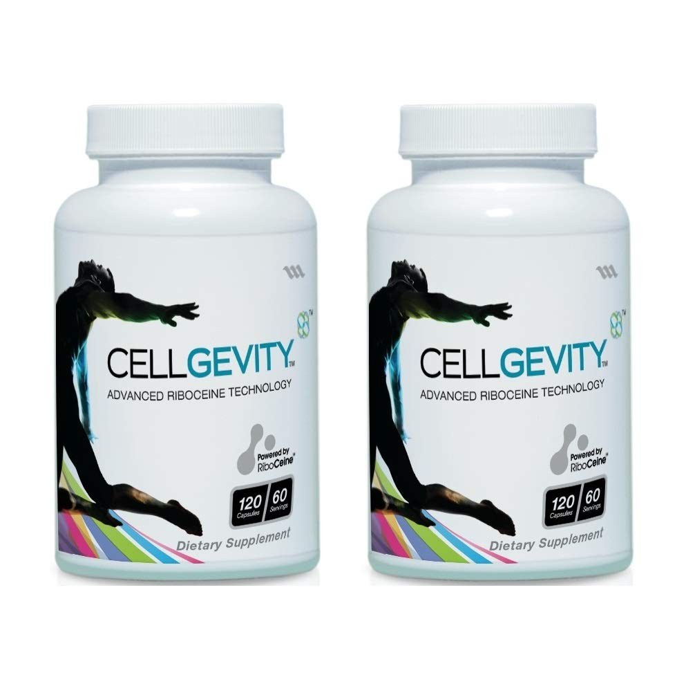 Cellgevity, Advanced Riboceine Technology, 120 Vegetable Capsules, 60 Servings (Pack of 2)