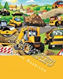 Toy Vehicles and Animals Coloring Book: For Boy's Ages 3 Years Old and up