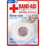 Johnson and Johnson Band-Aid 1 in. Small Paper Tape 10 yd. Roll -- 48 per case.