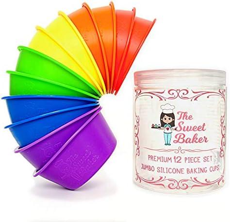 Sweet Baker Silicone Premium Cupcake