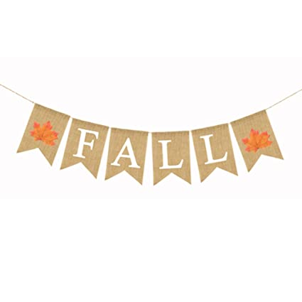 Ebtoys Falling In Love Banner Garland Give Thanks Bunting Banner Party Banner Thanksgiving Day Party Decorations