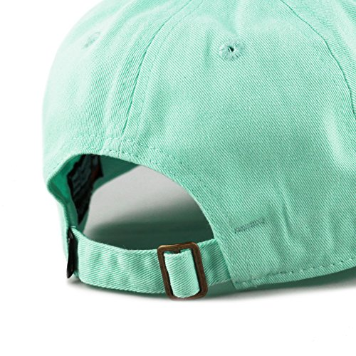 89c2ef4493c THE HAT DEPOT Kids Washed Low Profile Cotton and Denim Plain Baseball Cap  Hat at Amazon Men s Clothing store