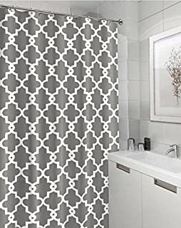 Geometric Patterned Shower Curtain 72 X