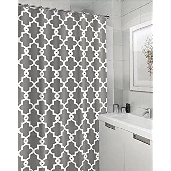 Amazon.com: Imiee Geometric Patterned Shower Curtain 72\