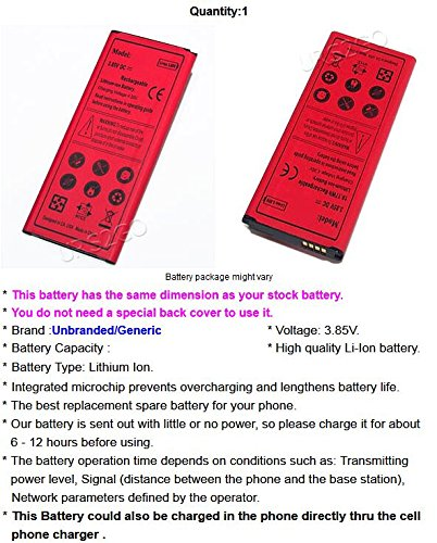 100% New 4900mAh Excellent Replacement Li-Ion Battery for T-Mobile Samsung Galaxy Note 4 SM-N910T Android phone