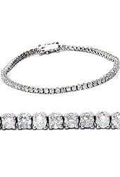 2.00CT Diamond Tennis Bracelet 14K White Gold