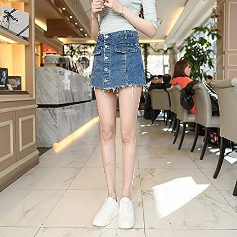 YYJZJW Shorts para Mujer Shorts para Mujer Falda Corta Faldas ...