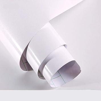 Aufkleber küchenschränke Weiß 61x500cm aus hochwertigem PVC ...