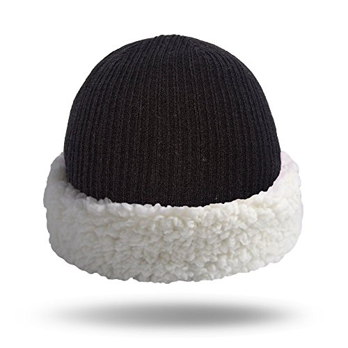 5631d06ac145a Pudus Corduroy Grey Adult one Size Cozy Winter hat with Sherpa Lining