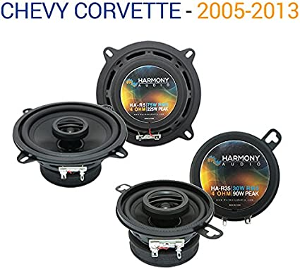 Compatible with Dodge Magnum 2005-2007 Factory Speaker Upgrade Harmony R69 R35 Package New