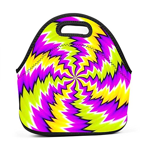 Price comparison product image BIAN-DANG Illusions That Will Make Your Brain Hurt Reusable Lunch Bags