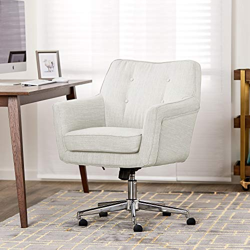Serta Ashland Home Office Chair, Ivory ()