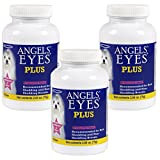 Angels' Eyes Plus Supplies for Dogs, Chicken Formula - 225gm Total (3 Bottles with 75gm per Bottle)