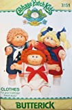 Butterick Pattern 3151 Cabbage Patch Kids Dress and Pinafore