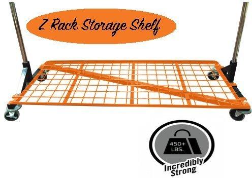 (Deluxe Bottom Shelf for M10 Series 5' Foot Deluxe Z-Racks, OSHA Safety Orange )