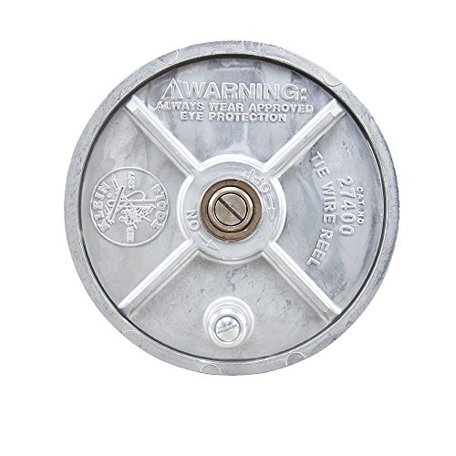 Tie-Wire Reel, Lightweight Aluminum, Left Handed and Right Handed Klein Tools 27400 by Klein Tools (Image #2)