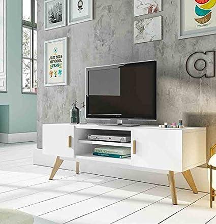 Tavolini TV in legno: modello Svezia: Amazon.it: Casa e cucina