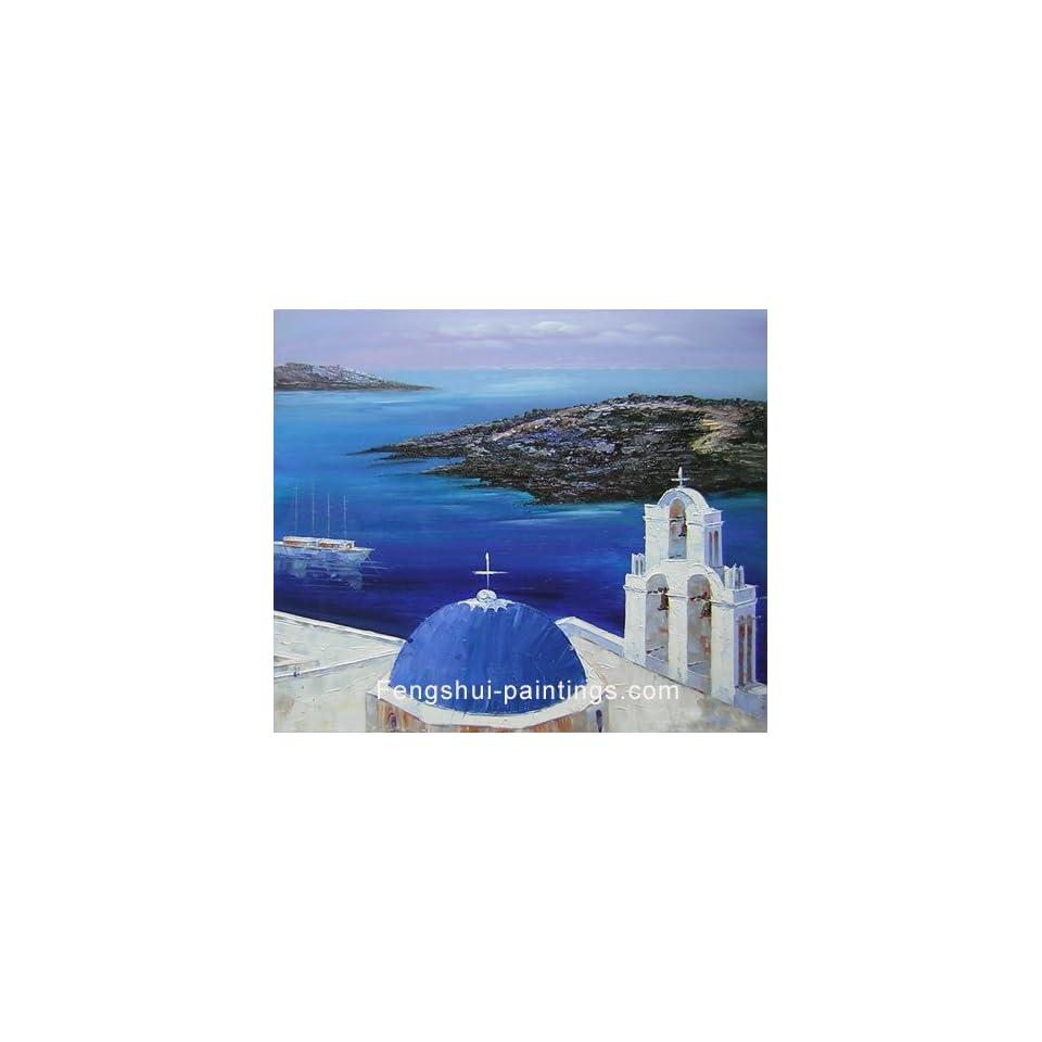 Mediterranean Painting, Modern Art, Oil Painting, Canvas Art c0140
