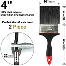 2Piece 4 inch,paint brush,paint brushes,paintbrushes,walls paint brushes,fence brush