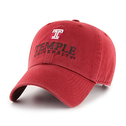 NCAA Temple Owls OTS Challenger Adjustable Hat, Razor Red, One Size (Owls Basketball)