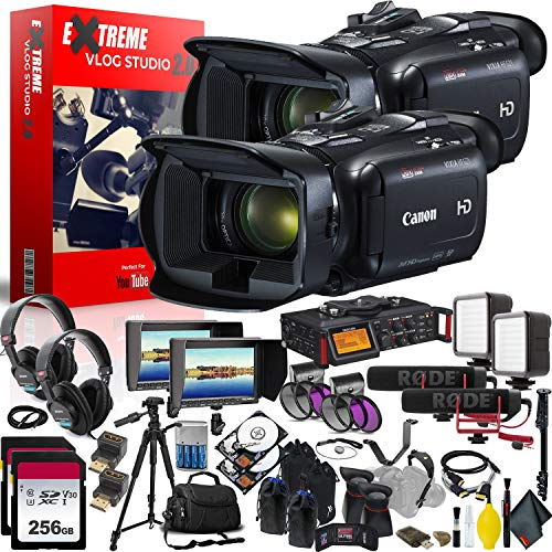 Canon (6Ave) Canon VIXIA HF G21 Full HD Camcorder Extreme