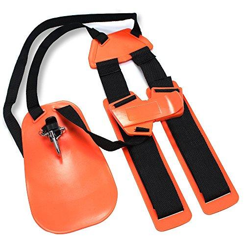 ENHENSTRE Trimmer Shoulder Strap, Weed Eater Strap Trimmer Harness with Enhanced and Durable Nylon Belts Adjustable for String Trimmer Brush Cutter in Garden Lawn ()