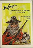 Superstition Mountain Arizona Postcard Collection - Folder With 21 Detachable De Grazia Illustrated Postcards - 1974