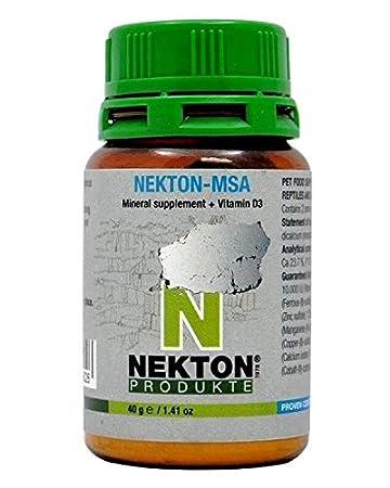 Nekton MSA, vitaminas de 80 g, vit D3 - Vitaminas tortugas: Amazon.es: Productos para mascotas