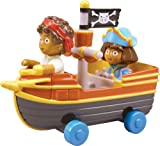 : Take Along Nickelodeon Dora and Diego Pirate Ship