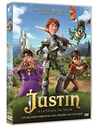 Justin Y La Espada Del Valor [DVD]: Amazon.es: Cine y Series TV