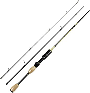 Rosewood 1,8 m UL Spinning caña de Pesca señuelo de Peso 0,8 – 5 G