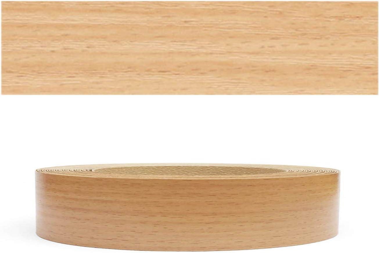 10m rollo Mprofi MT/® Cantoneras laminadas melamina para rebordes con Greve Berg Roble claro Pore 45 mm