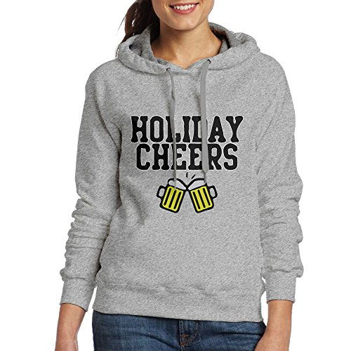 Corelosa Christmas Holiday Cheers Irish Women's Hoodies