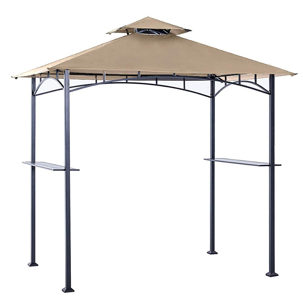 ABCCANOPY Grill Shelter Replacement Canopy roof for Model L-GZ238PST-11 (Beige) by ABCCANOPY (Image #1)