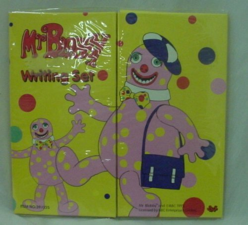 Toyland Mr Blobby Retro Writing Set Contains
